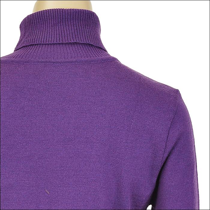 中长黄直发挑染紫色