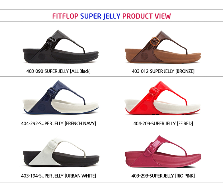 24c8c3db5 Buy  Fitflop 2015 S S New Sandals Fitflop Sandals! SUPER JELLY Ws ...